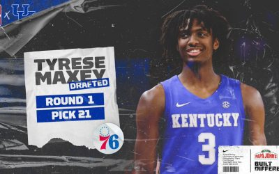 Tyrese Maxey drafted 21st overall by the Philadelphia 76ers
