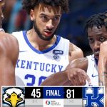 No. 10 Kentucky rolls past Morehead State in season opener