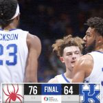 No. 10 Kentucky upset by Richmond as offense goes cold