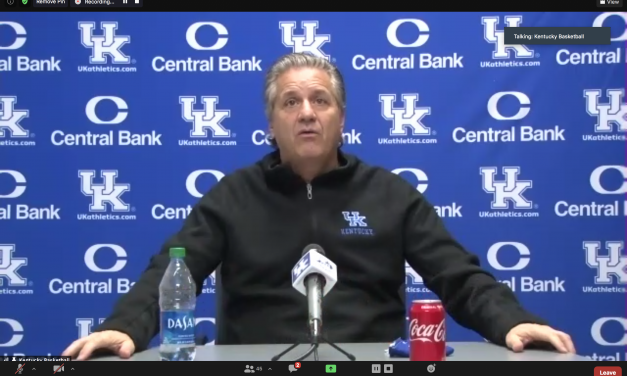 John Calipari and Terrence Clarke preview No. 7 Kansas