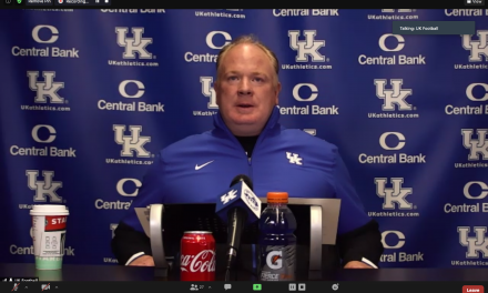 Mark Stoops reflects on Florida loss, previews South Carolina