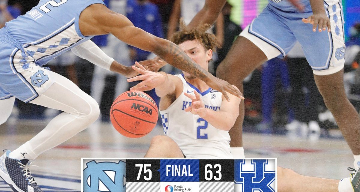 Foul trouble dooms Cats in loss to No. 22 North Carolina