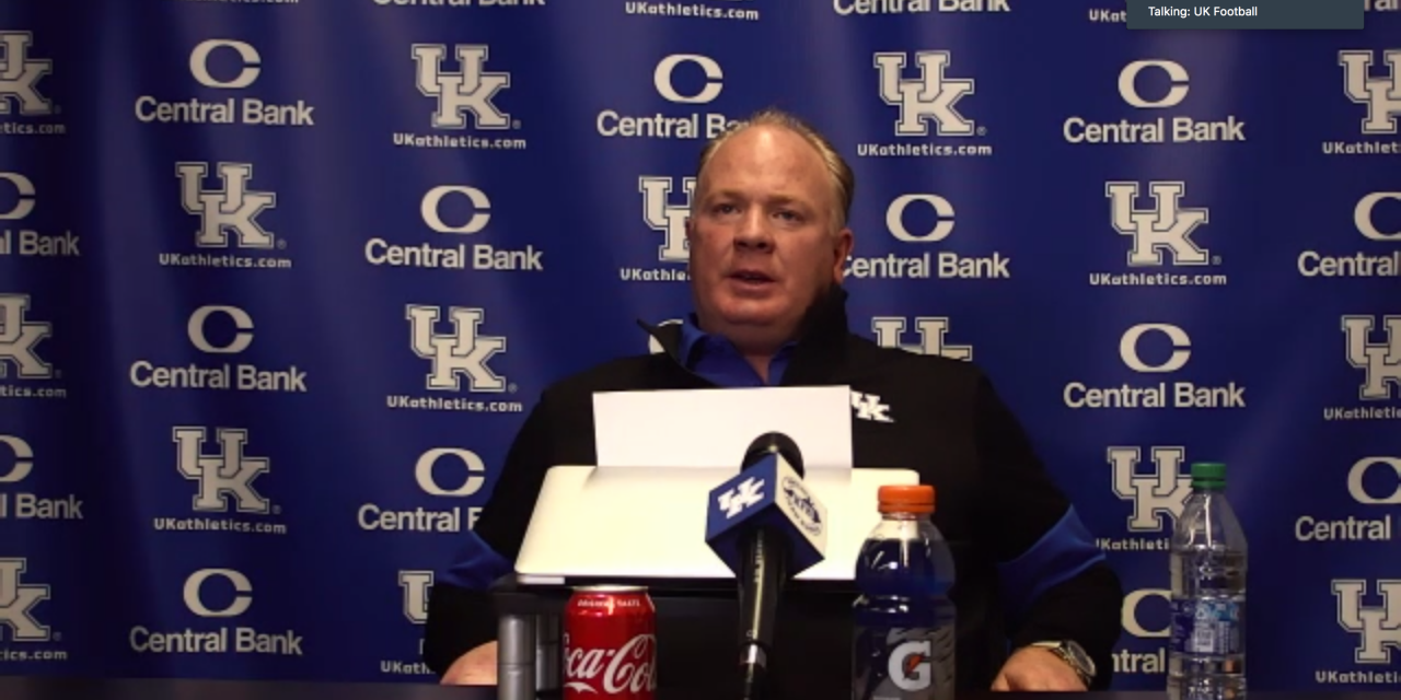 Mark Stoops meets media to discuss staff changes