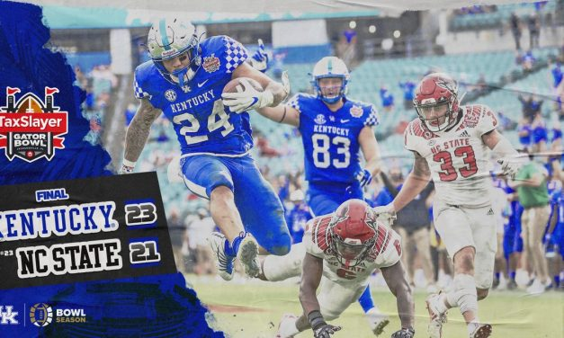 Kentucky takes down No. 23 NC State in slugfest to win Gator Bowl: Game Story & MVP
