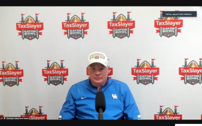 Mark Stoops recaps Gator Bowl win over No. 23 NC State
