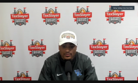 A.J. Rose and Jamin Davis recap Gator Bowl win