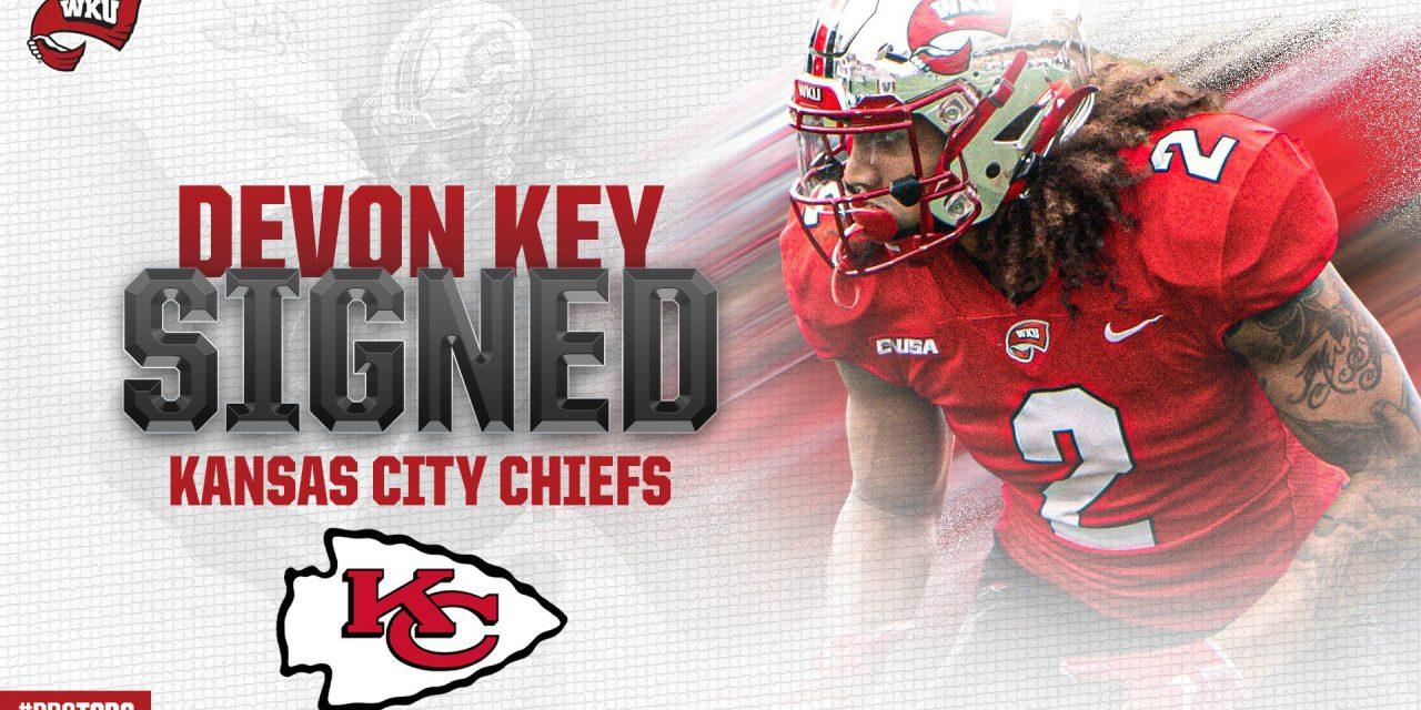 Chiefs defensive back Devon Key joins the Big Blue Insider