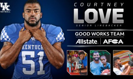 Courtney Love Named to 2017 Allstate AFCA Good Works Team®