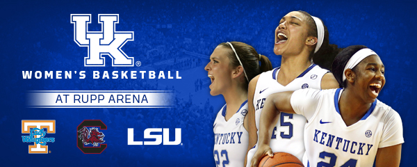 Three Games Inside Rupp Arena Completes 2017-18 WBB Schedule