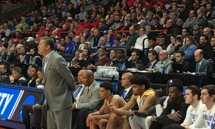 John Calipari and players speak before Kentucky faces Buffalo