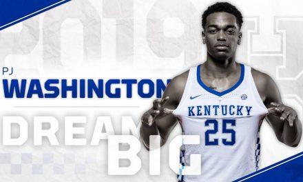 Washington to Return to Kentucky for Sophomore Season