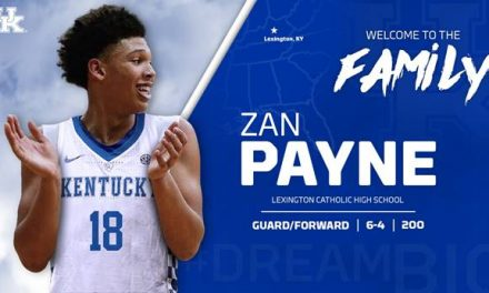 Zan Payne Joins Kentucky Men's Basketball Program