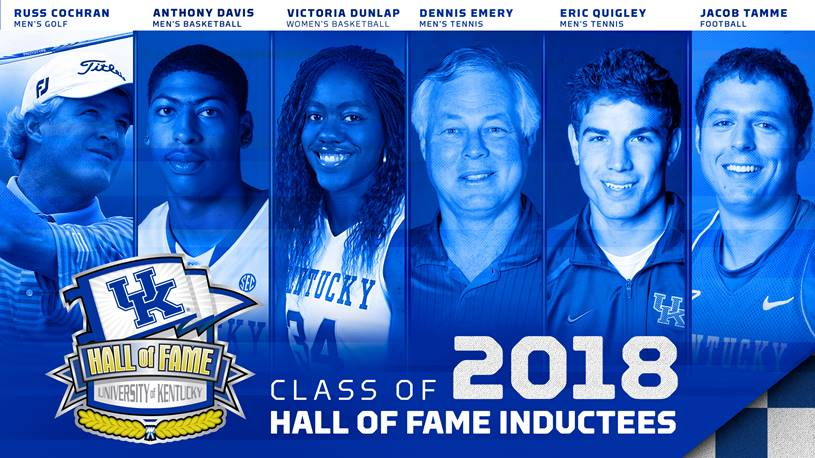 UK Athletics Announces Hall of Fame Class of 2018