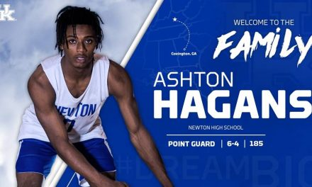 Hagans Signs with Kentucky, Reclassifies to 2018 Class