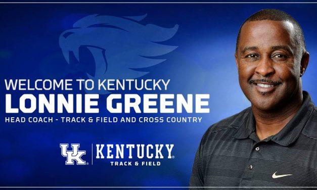 Lonnie Greene Named UK Track & Field/Cross Country Head Coach