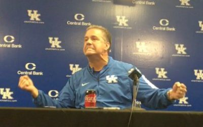 John Calipari on UK Basketball Media Day