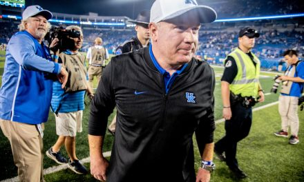 Mark Stoops after Kentucky's loss against Georgia