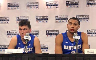 Kentucky 80, North Carolina 72; highlights, game notes, box score & season stats