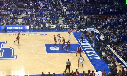 Wildcats answered the bell; Gamecocks didn't in 76-48 slugfest