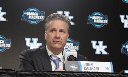 John Calipari post Houston