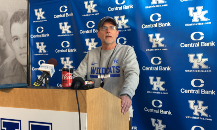 Eddie Gran, Terry Wilson, A.J. Rose and Landon Young reflect on first full practice