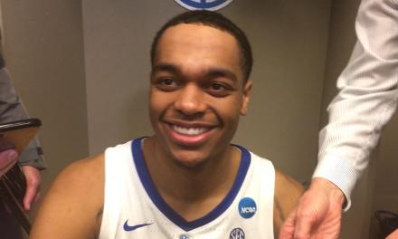 Kentucky locker room interviews post Houston
