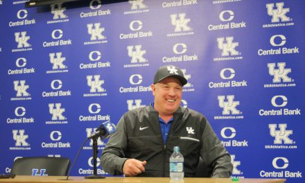 Mark Stoops post Spring game