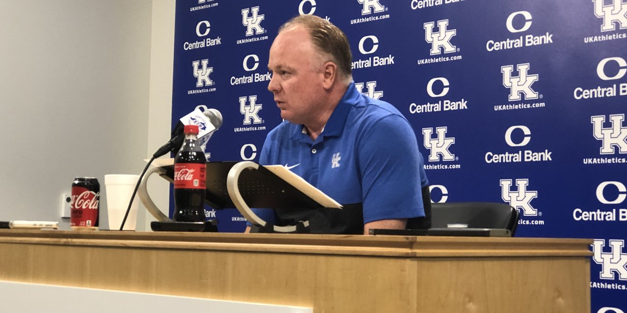 Mark Stoops Reflects On Toledo, Previews Eastern Michigan In Monday Press Conference