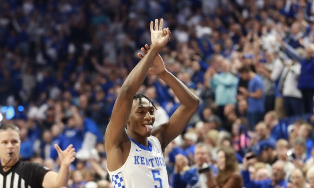 Red-hot Quickley helps Cats burn 'Bama