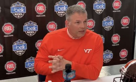 Virginia Tech HC Justin Fuente comments on Kentucky rushing attack