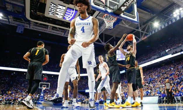 Richards strong (again) in win over Mizzou; Montgomery still struggling