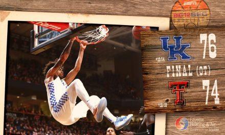 No. 15 Kentucky defeats No. 18 Texas Tech in overtime