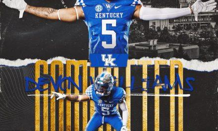 Kentucky Football lands first commitment of 2021 recruiting class in Devon Williams