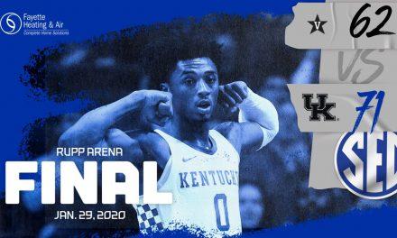 No. 13 Kentucky erases 10-point deficit to beat Vanderbilt