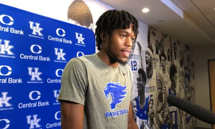 Transcript: Tony Barbee, Keion Brooks and Nate Sestina preview LSU