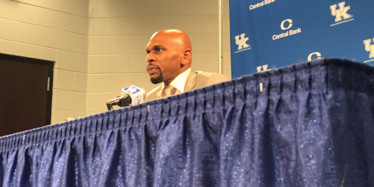 Vanderbilt head coach Jerry Stackhouse recaps loss to No. 13 Kentucky