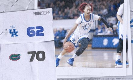 Kentucky women's basketball blows 10-point halftime lead in loss to Florida