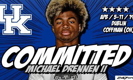 Kentucky football lands four-star running back Michael Drennen II