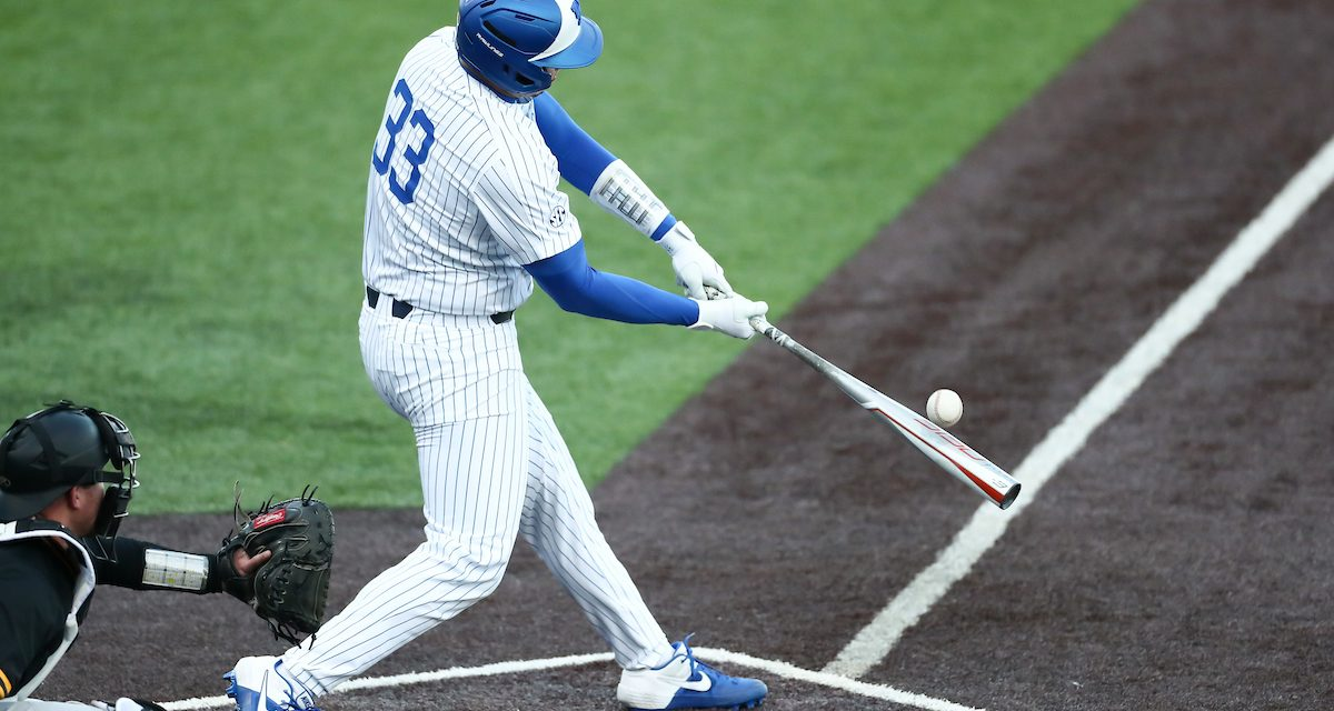 10-run inning propels Kentucky to series victory over Appalachian State