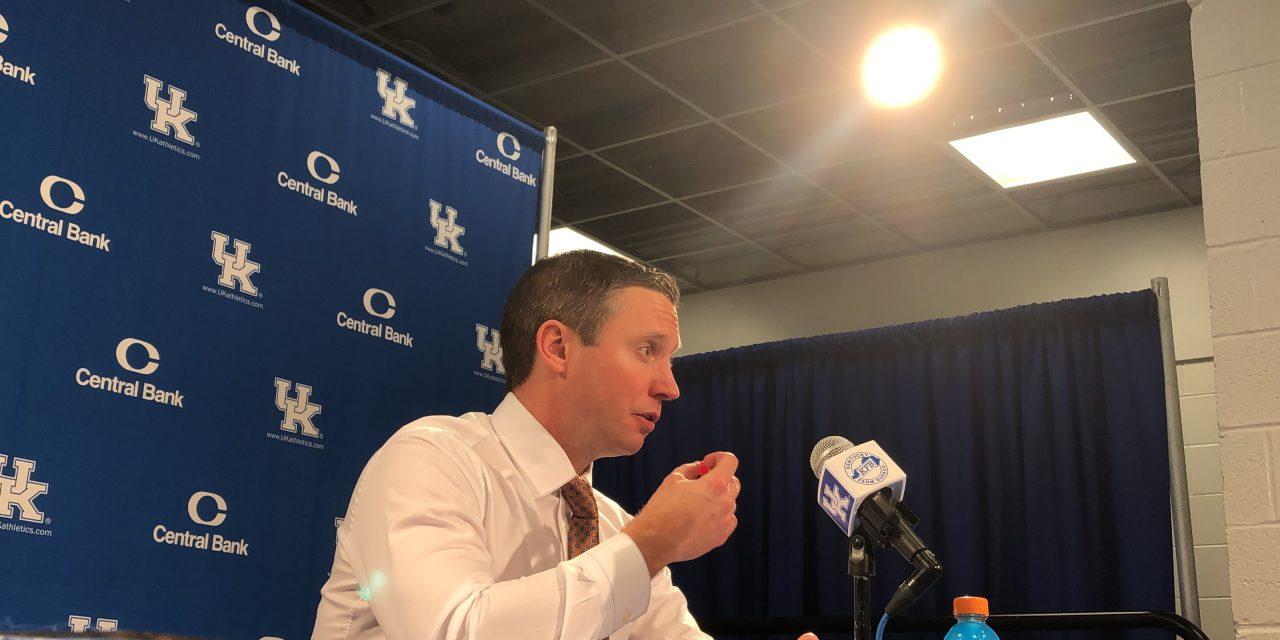 Florida's HC Mike White recaps loss to Kentucky