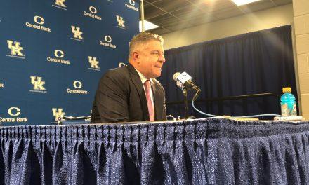 Auburn head coach Bruce Peral recaps loss to Auburn