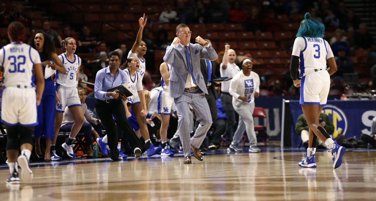Kentucky women's basketball dominates Tennessee in SEC Tournament Quarterfinals