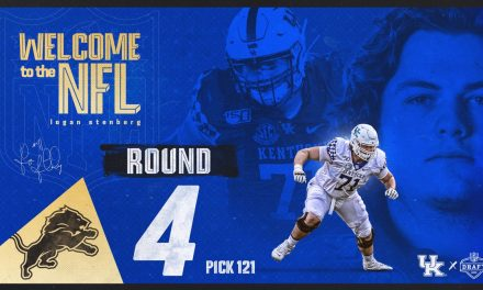 Logan Stenberg drafted by Detroit Lions in 4th round of NFL Draft