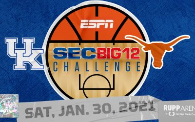 Kentucky to host Texas in 2021 SEC/Big 12 Challenge