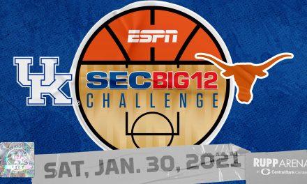 Kentucky to host Texas in 2021 SEC/Big 12 Challenge