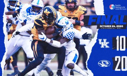 Kentucky's offense shut down in loss to Missouri: Game Story and MVP