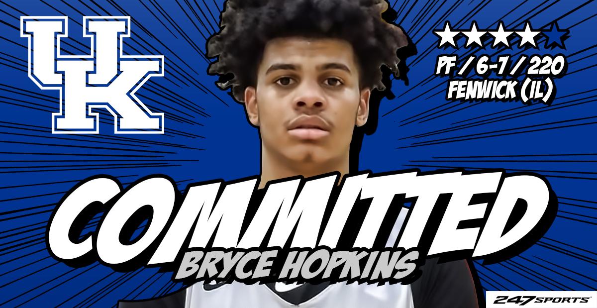 4-star forward Bryce Hopkins commits to Kentucky