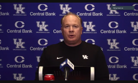 Mark Stoops talks death of John Schlarman