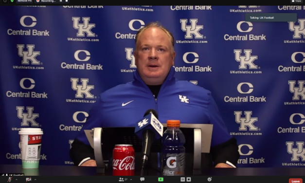 Mark Stoops, Beau Allen, Joey Gatewood meet media after third spring practice