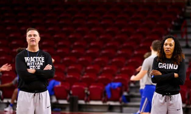 Kyra Elzy introduced as interim head coach of Kentucky Women's Basketball